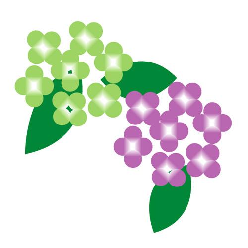 すべての講義 あじさいの絵 : Hydrangea Vector