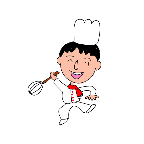 Cheerful chef